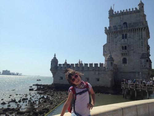 Lizbona in grad Belem, prvomajske družinske počitnice
