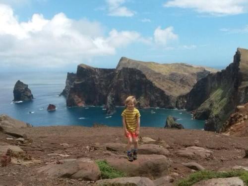 Portugalski otok Madeira, prvomajske počitnice z družino