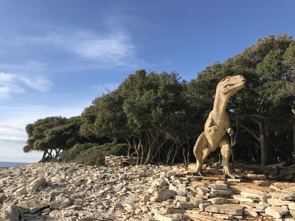 Park dinozavrov (NP Brioni)