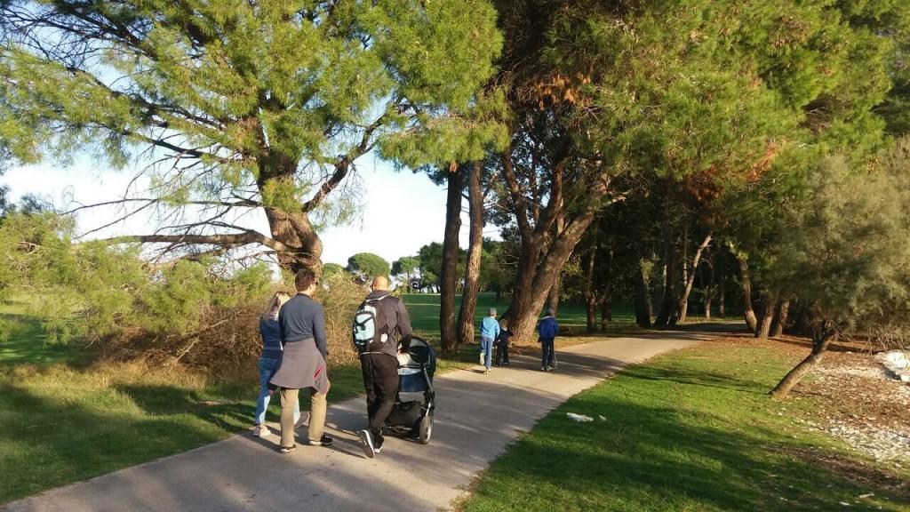 Čudovita narava in urejena poti (Brioni)