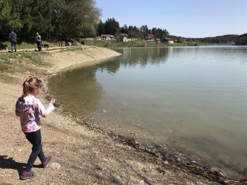 Igra ob vodi, Šmartinsko jezero pri Celju
