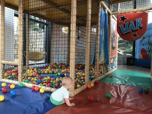 Notranja igralnicia pimerna tudi za najmlajše