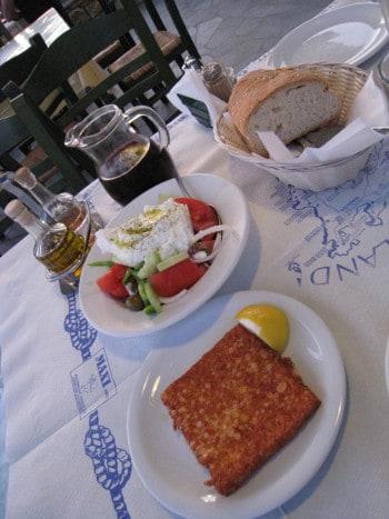 Okusne grške jedi, top družinska destinacija