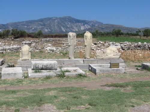 Ostanki časa Pitagore, otok Samos