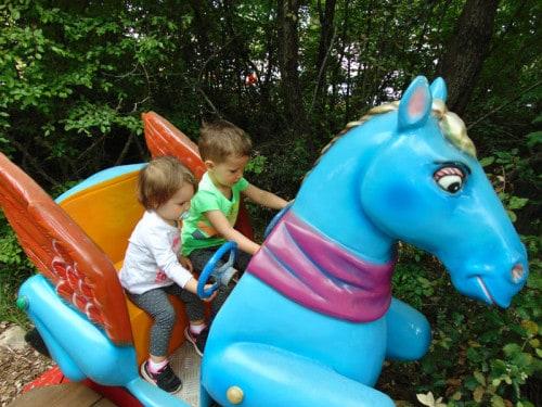 Zabaviščni del Dinoparka