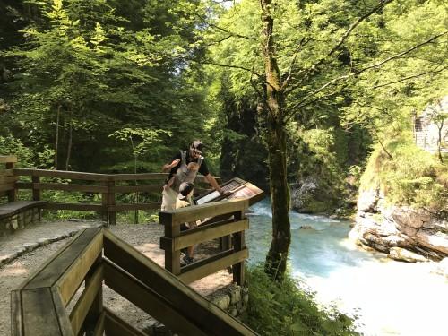Razgled na sotočje Tolminke in Zadlaščice