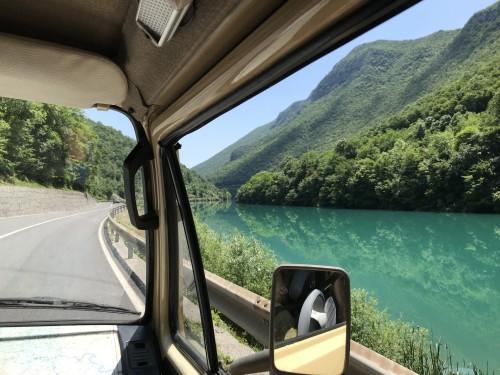 Panoramska vožnja ob Soči Balkan Campers)