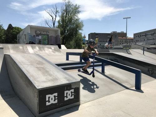 Skate park v Novi Gorici je primeren tudi za zahtevne mulce