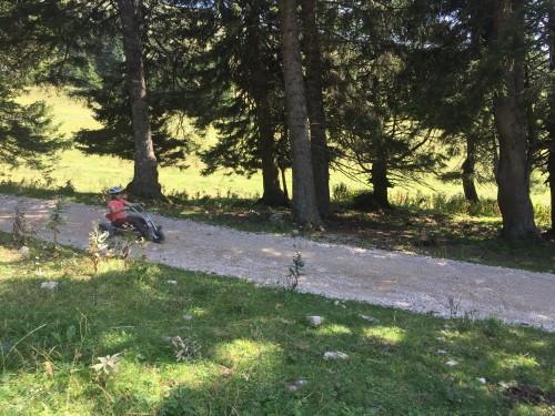 Najem vozil za spust po poteh planine Krvavec