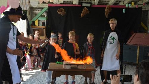 Čarovniška šola v Orehovem gaju