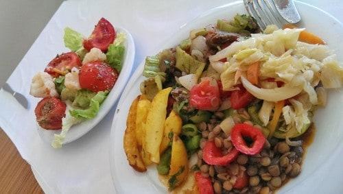 Turška kulinarika je pisana, bogata s svežo in kuhano zelenjavo, stročnicami in dišečimi začimbami
