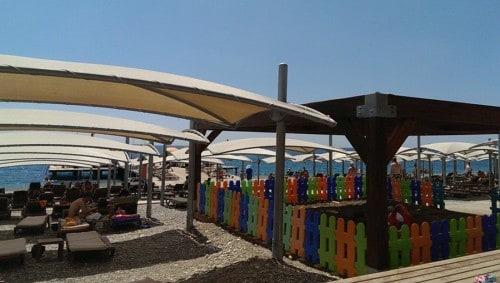 Igrišče v senci za najmlajše (Turčija)