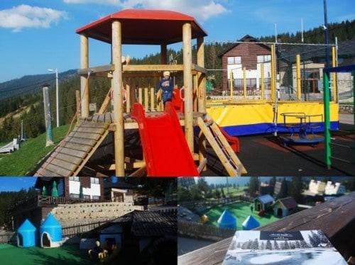 Igrala pod restavracijo Eko-FIS Vlašič, družinski roadtrip po Bosni