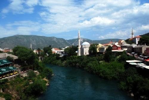 Mostar iz mosta, družinski roadtrip po Bosni