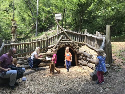 Polhov doživljajski park, družinski izlet