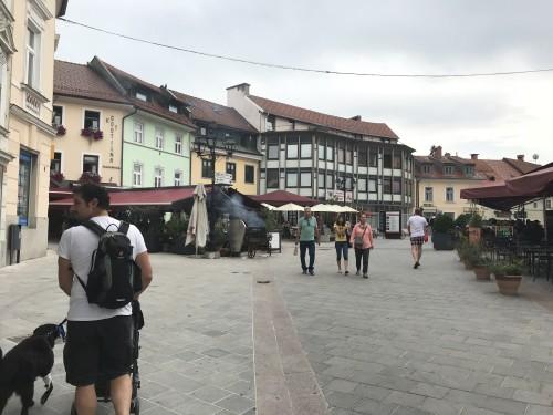 Vhod v staro mestno jedro Kranja