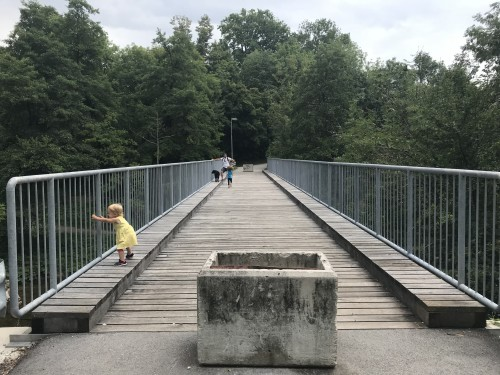 Most čez Kokro (pot nazaj)