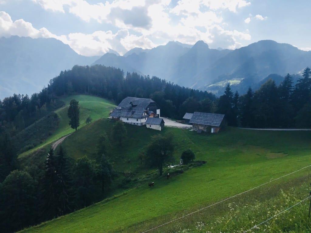 Klemenškova kmetija, Solčavska panoramska pot
