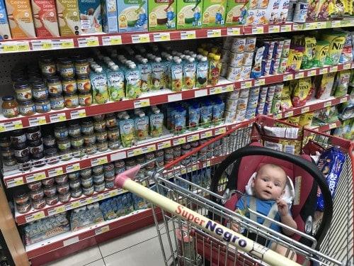 Založen otroški oddelek v supermarketu na Kosatriki