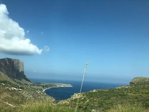 Na poti v naravni rezervat Zingaro, Sicilija z otroki