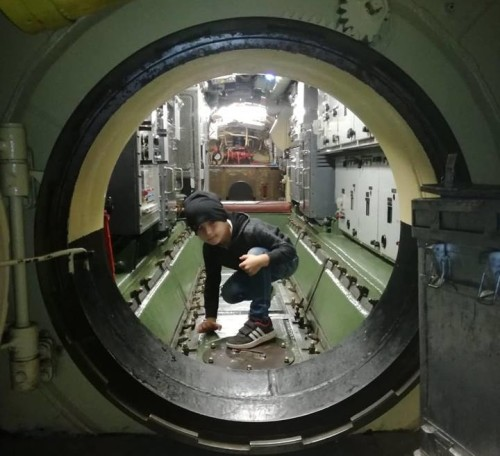 Ogled podmornice traja pol ure Park vojaške zgodovine, Pivka)