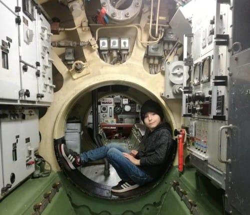 Notranjost podmornice, Park vojaške zgodovine Pivka