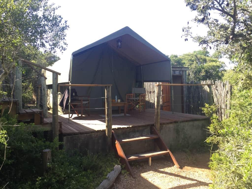 Woodbury Tented kamp je odličen družinski glamping
