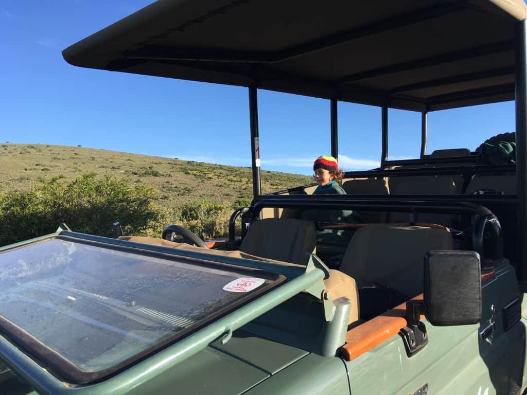 Priporočena starost otrok za safari je 6 let