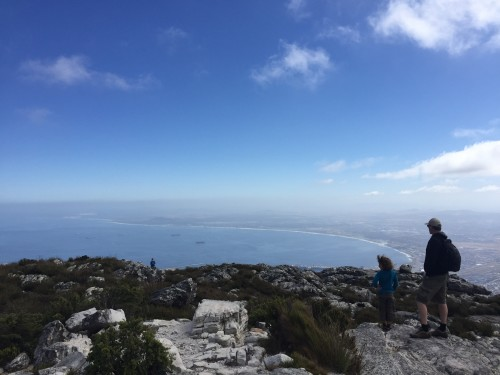 Sprehod po krožni poti, Table Mountain, Cape Town