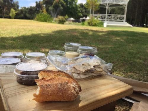 Piknik na posesti Boschendal, Stellenbosch