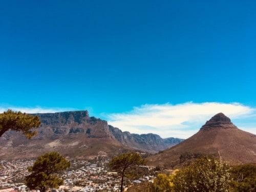 Pogled s Signal Hill, Cape Town
