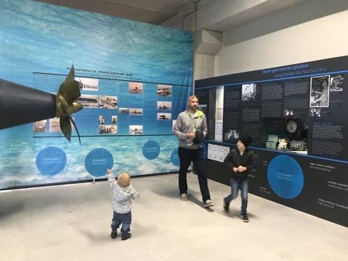 Razstava podmorničarjev, Park vojaške zgodovine, Pivka