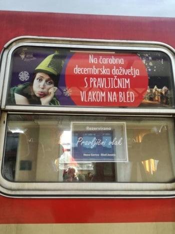 S pravljičnim vlakom na Bled